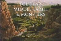 Tolkien's Middle-Earth & Monsters (40 postcards) – HB 700