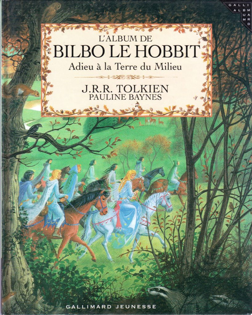 bilbo le hobbit adieu la terre du milieu france hb 4015 hobbithunter bookshop. Black Bedroom Furniture Sets. Home Design Ideas