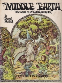 Middle Earth – The world of Tolkien illustrated – HB 539