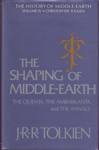 History of Middle-Earth 04 – The Shaping of Middle-Earth – HB 695