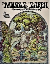 David Wenzel : MIDDLE-EARTH, The World of Tolkien illustrated – HB 2828