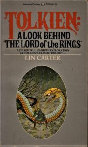 Lin Carter : TOLKIEN: a look behind The Lord of the Rings – HB 3685