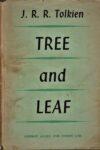 TREE and LEAF – Tolkien – HB 5192